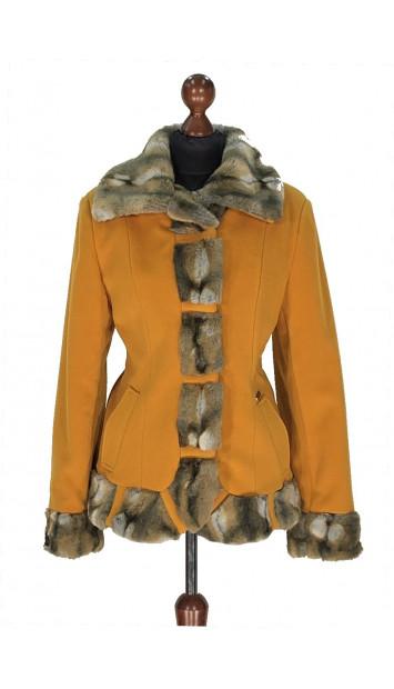 Kabát žltý Abd-al-Alim - 5319 Color 148