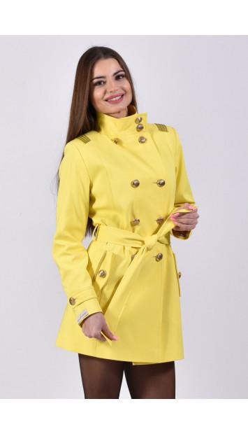 Plášť žltý Dapa - 5206 color 258