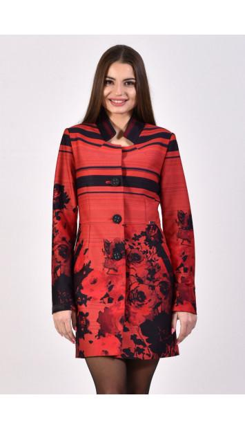 Plášť červený Assh - 5220.11 color 323