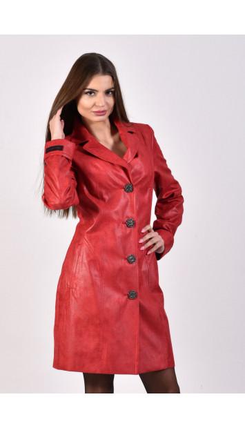 Plášť červený Gema - 5238.2 color 334
