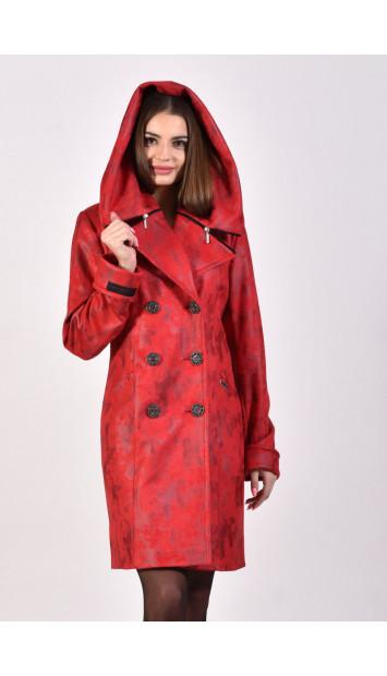 Plášť červený Kjara - 5240.2 color 262