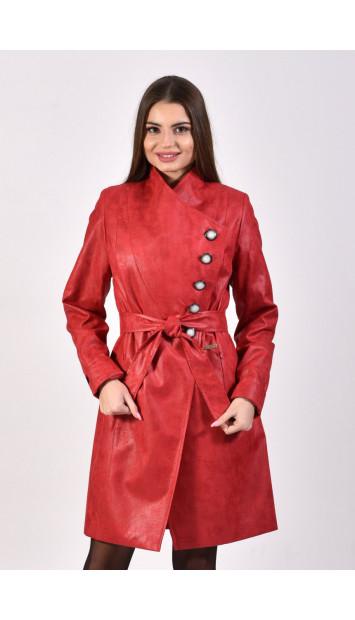 Plášť červený Stela 5245.2 color 334