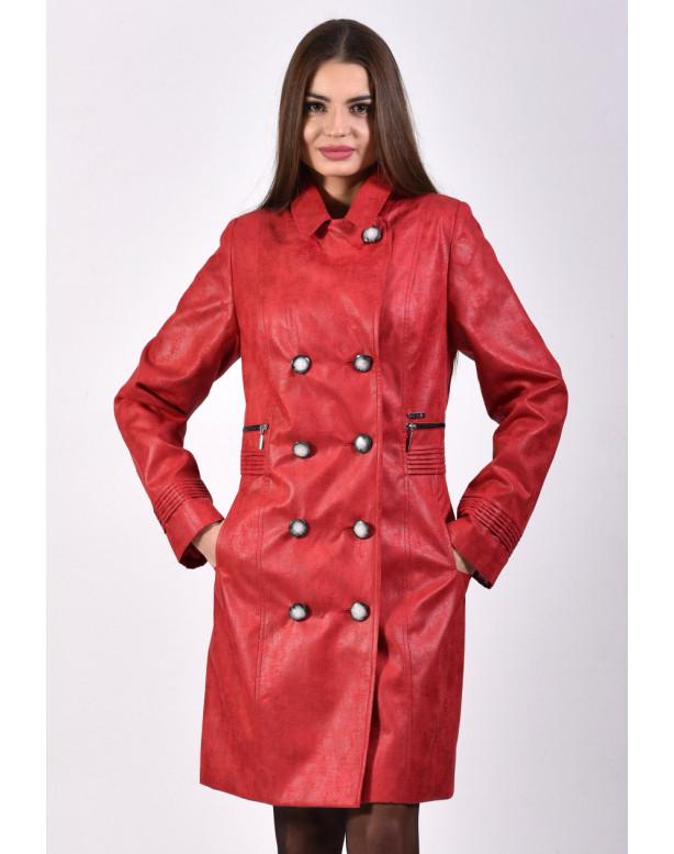 Plášť červený Eliška - 5250.2 color 334