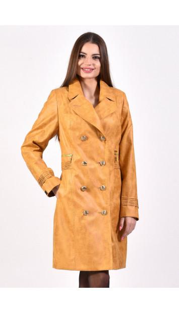 Plášť žltý Eliška - 5250.2 color 335