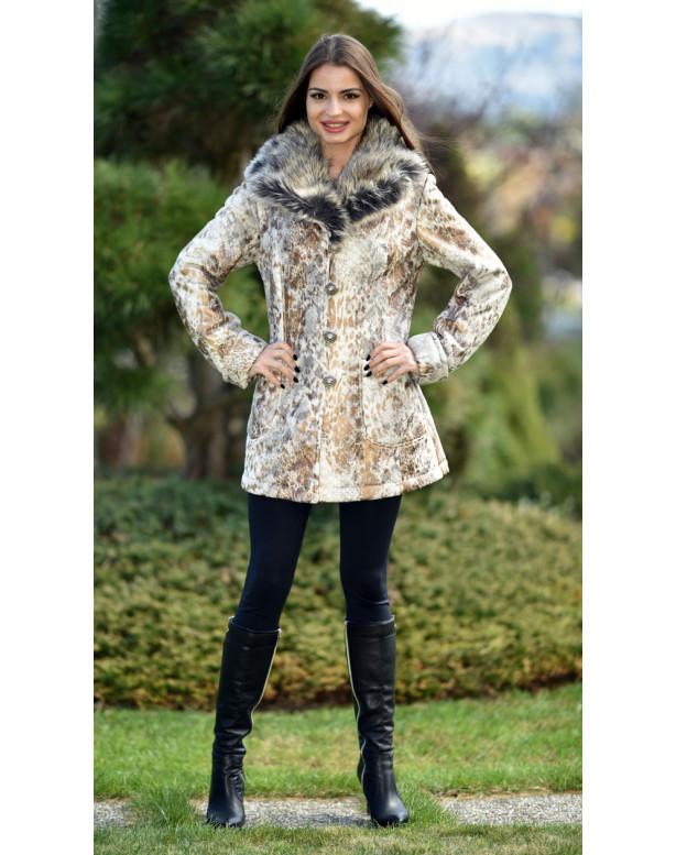 Kabát zlatý Jenue - 4090.22 Color 340