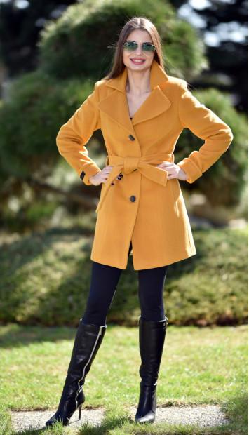 Kabát žltý Minolta - 5232 Color 148