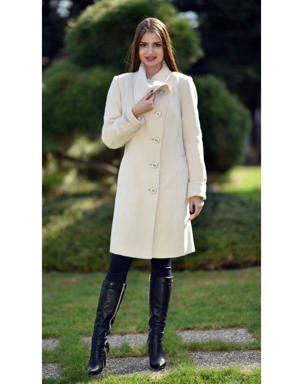 Kabát bežový Malvina - 5236.1 Color 301