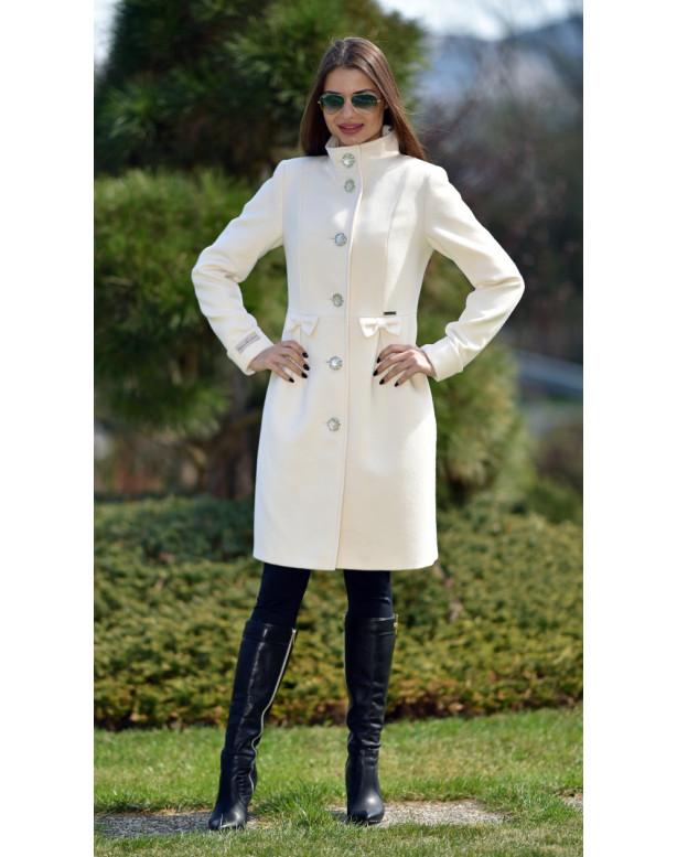 Kabát bežový Tiril - 5242 Color 228/228