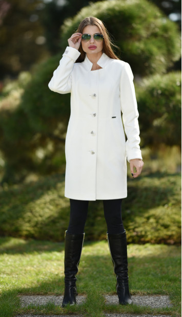Plášť bielyBrien - 5246 color 228