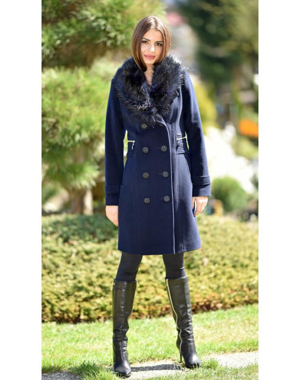 Kabát čierny Laila - 5248 Color 255