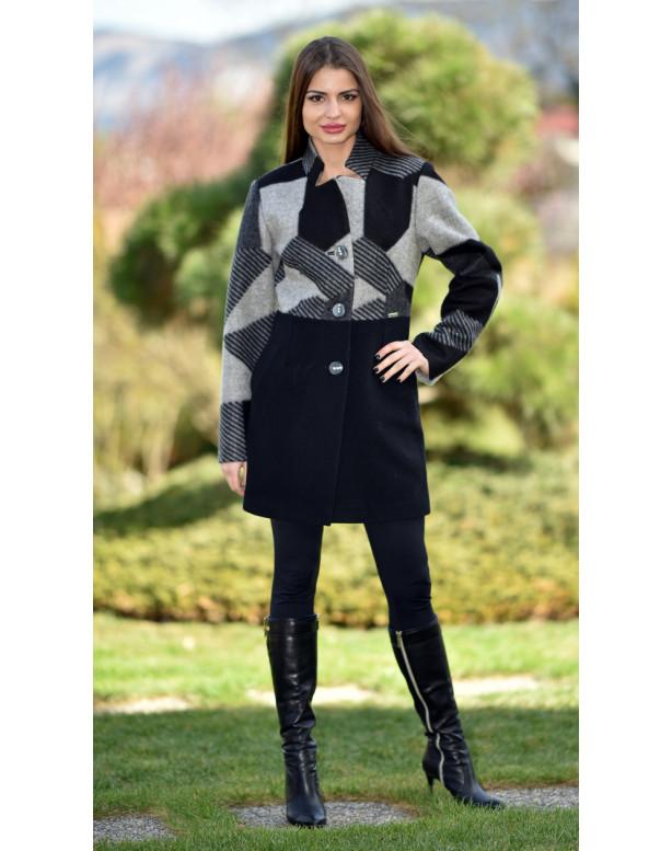 Kabát čierny Sigma2 - 5271.1 Color 312/312