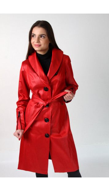 Plášť červený Dominika 5157 color 190
