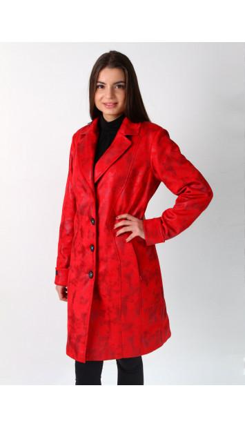 Plášť červený Nikolaj 5198 color 259
