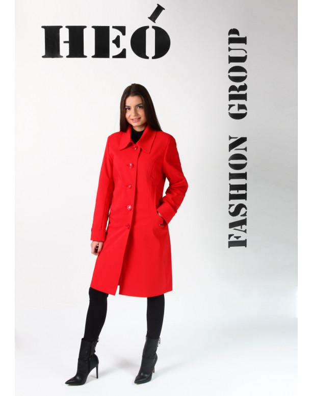 Kabát červený Rúžena - 5199 color 275