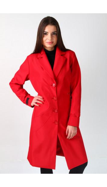 Kabát červený Alana - 5200 color 275