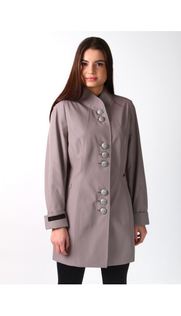 Plášť sivý  Svetlana 5202 color 269