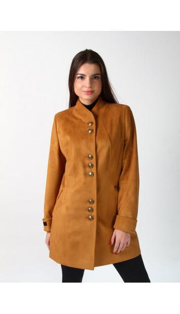 Kabát žltý Svetlana - 5202 color 272