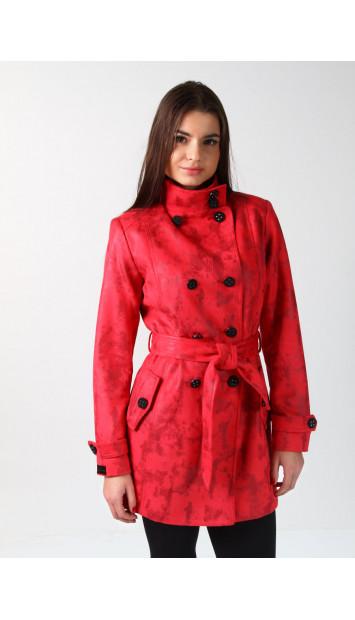 Plášť červený Rozália 5205 color 262