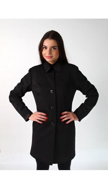 Kabát čierny Assh - 5220 color 268