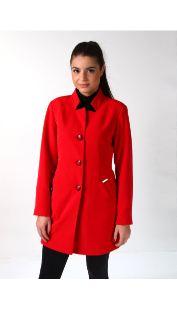 Plášť červený  Assh - 5220 color 282