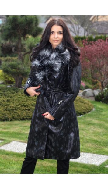 Kabát čierny Anita - 5118.2