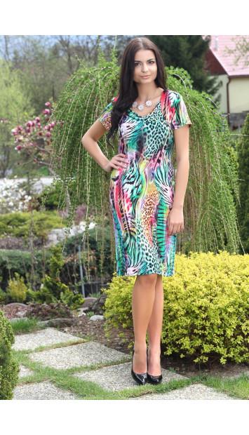Šaty zelené Alexandra - 5142