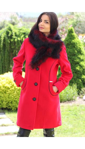 Kabát červený Taylor - 5163 COLOR 106
