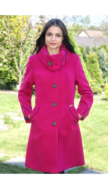 Kabát cyklamenový Bianka - 5180-B COLOR 227