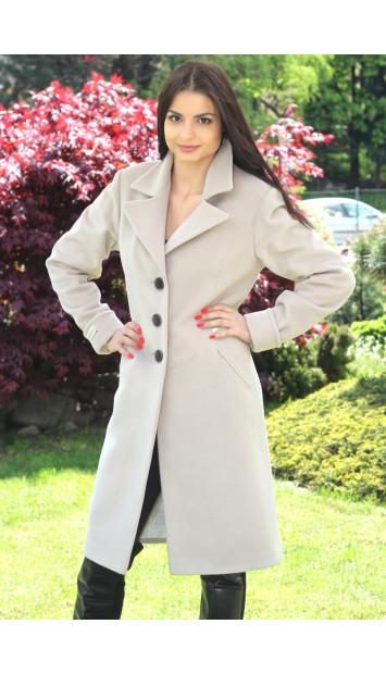 Kabát bežový Liliana - 5185 COLOR 246