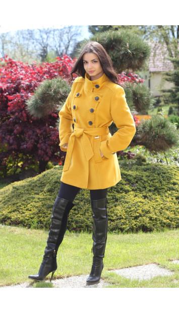 Kabát žltý Samuel - 5189.b COLOR 235