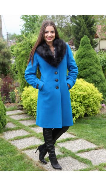 Kabát  modrý Jela - 5166