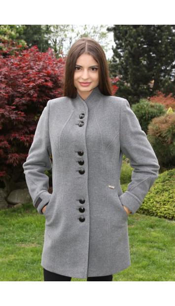Kabát sivý Svetlana - 5207 COLOR 78