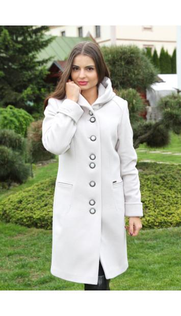 Kabát bežový Vanda - 5212 COLOR 246