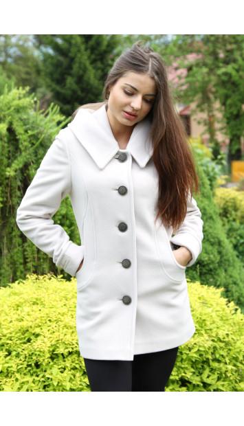 Kabát bežový Galina - 5214 COLOR 246