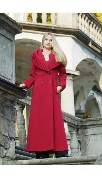 Kabát červený Klement - 9250
