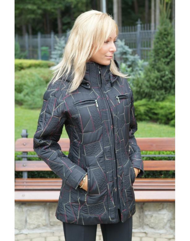 Kabát čierny Ambróz - 39591B