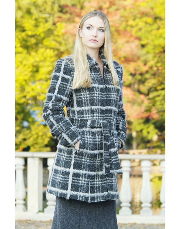 Kabát čierny Eduard - 39522