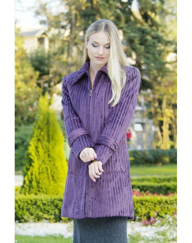 Kabát fialový matilda - 39516