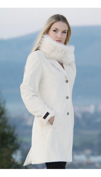 Kabát bežový Alana - 39484