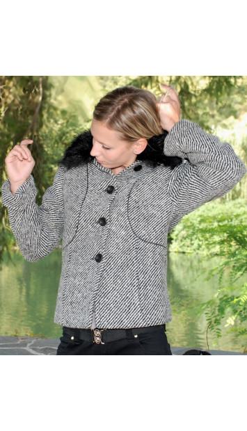 Kabát bežový Albína - 39768
