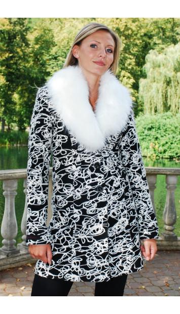 Kabát čierny Jarmila - 39762.1