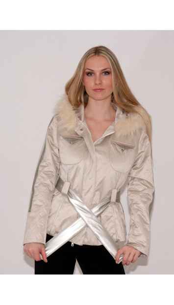 Kabát bežový Ela - 39808