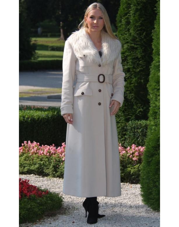 Kabát bežový Blažena - 39792