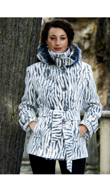 Kabát bežový Oxana - 4000