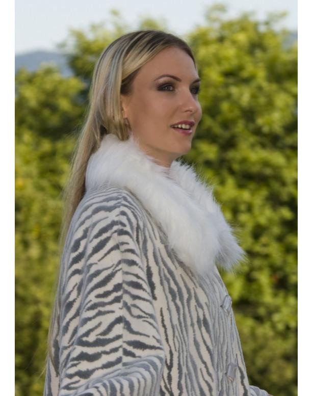 Kabát čierny Barbara - 39523.1