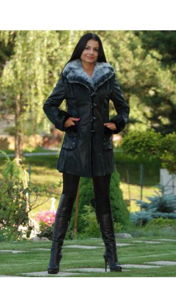 Kabát čierny Jenue - 4089.4Č