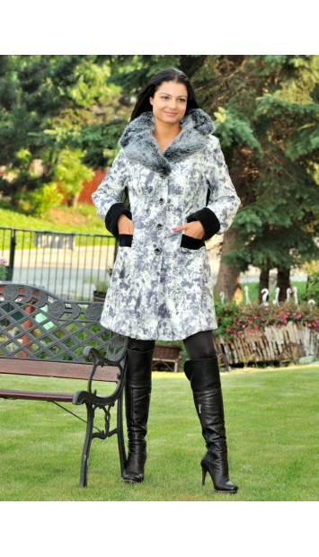 Kabát sivý Tadeáš - 4092.1