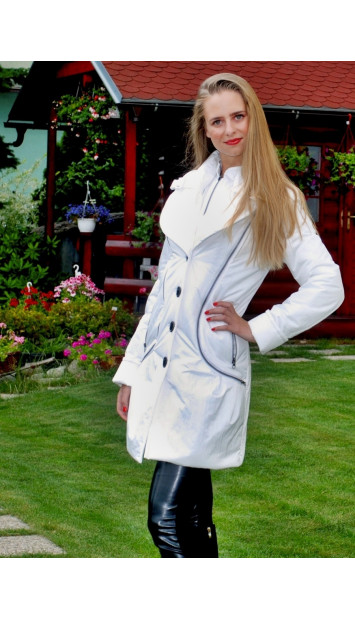 Kabát bežový Amália - 5051.3